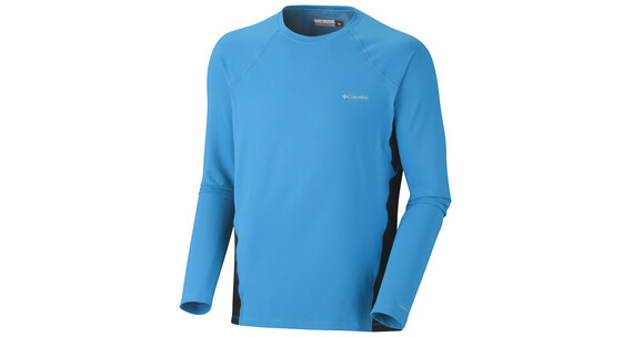 Columbia Men's Baselayer Midweight LS Top compass blue